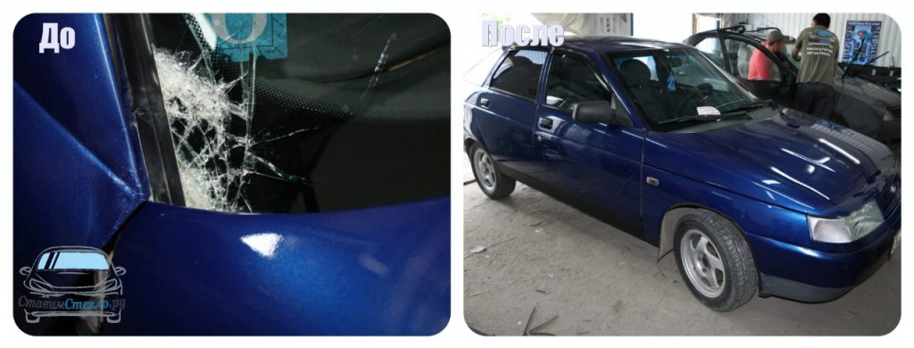 Замена лобового стекла на ВАЗ 2112