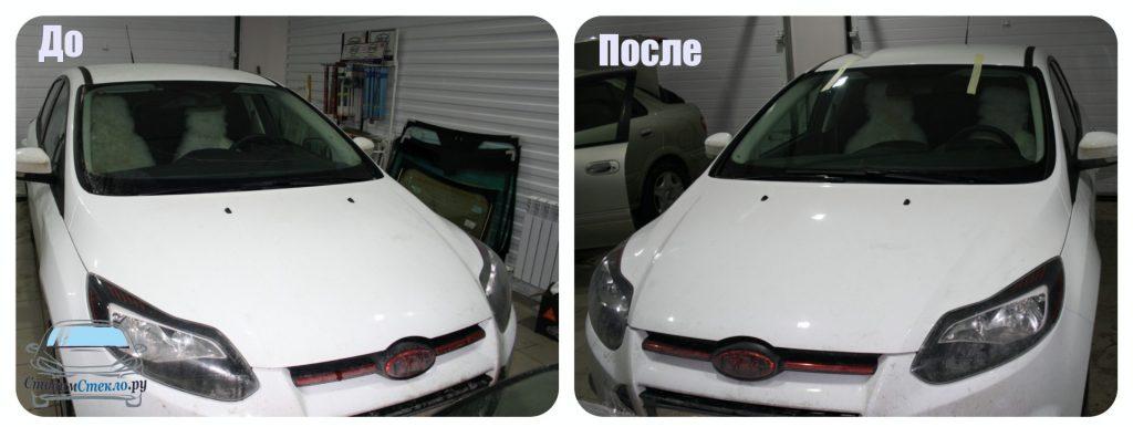 Замена лобового стекла Ford Focus III